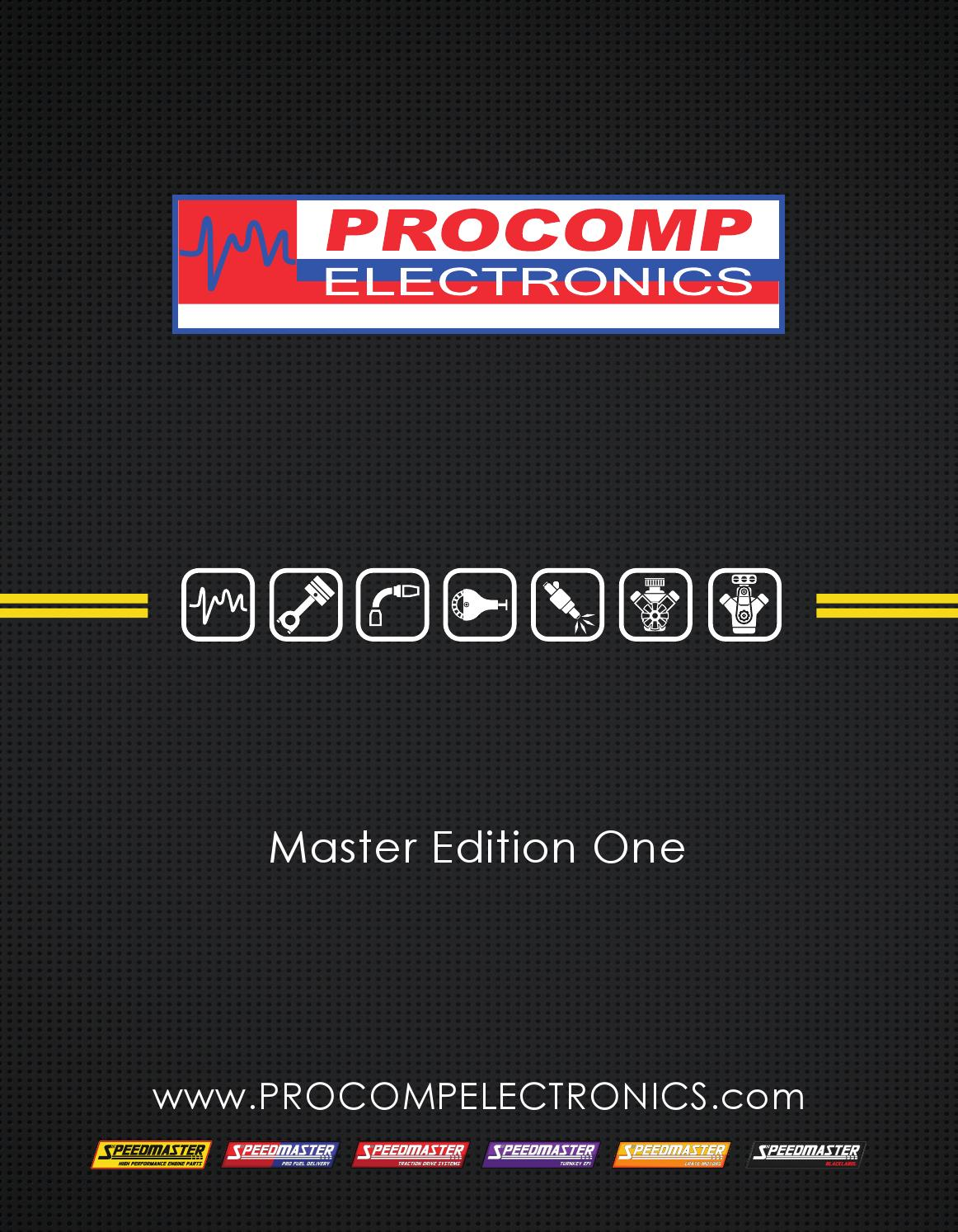 Procomp Electronics Catalog - Master Edition One by Studio