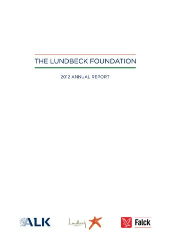 lundbeck master thesis