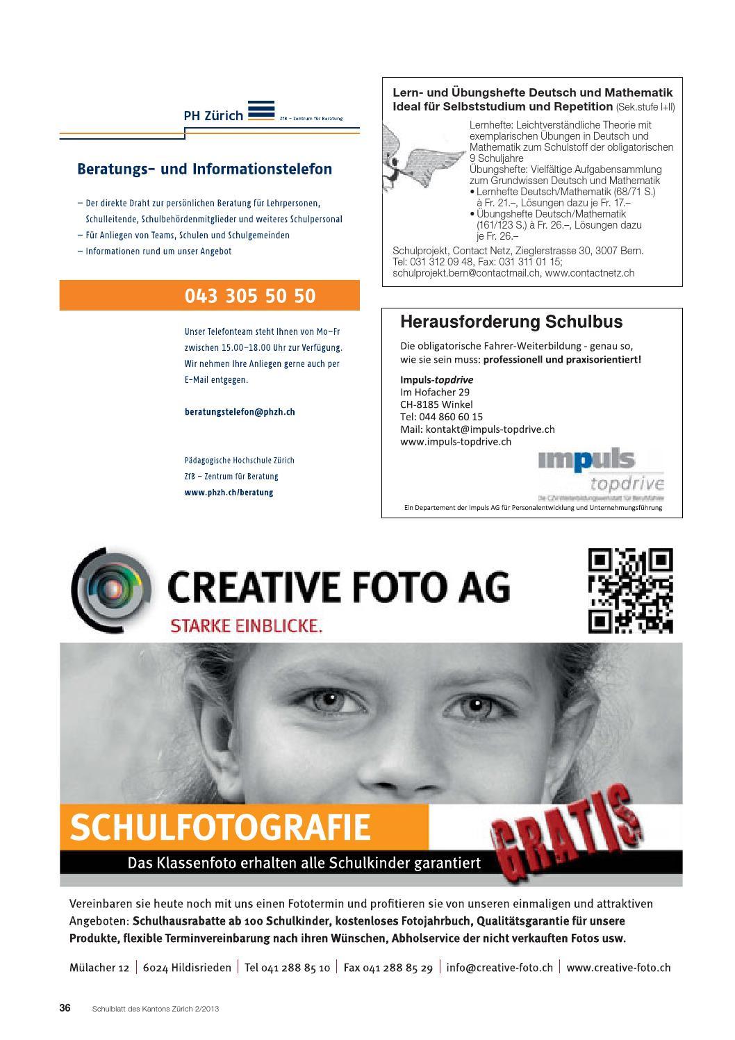 Schulblatt 2 2013 by Schulblatt Kanton Zürich - issuu