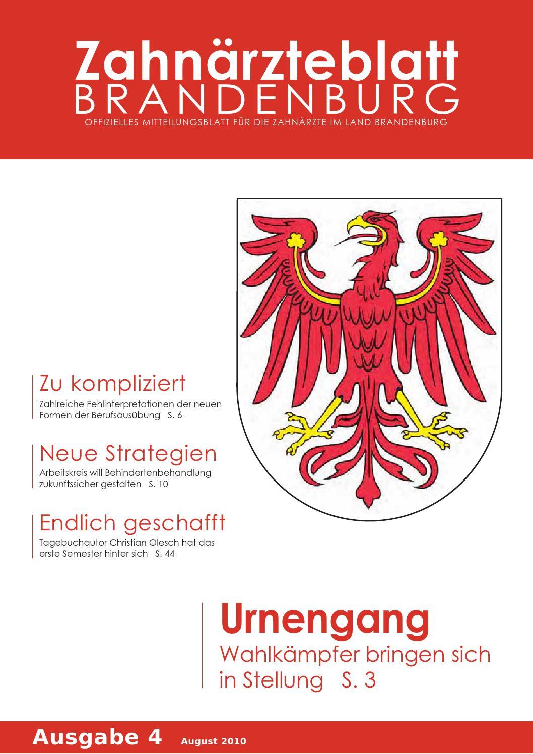 ZBB Ausgabe 4/2010 by KZVLB - issuu