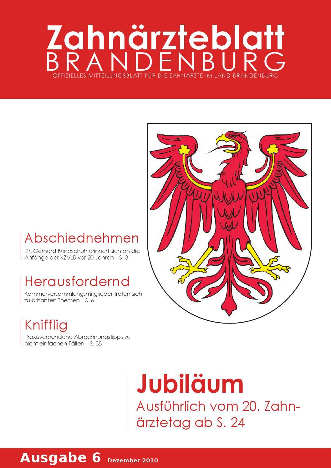 ZBB Ausgabe 6/2010 by KZVLB - issuu