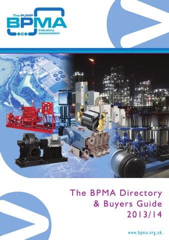 Bpma Directory & Buyers Guide 2013/14 by Michael Lane - issuu
