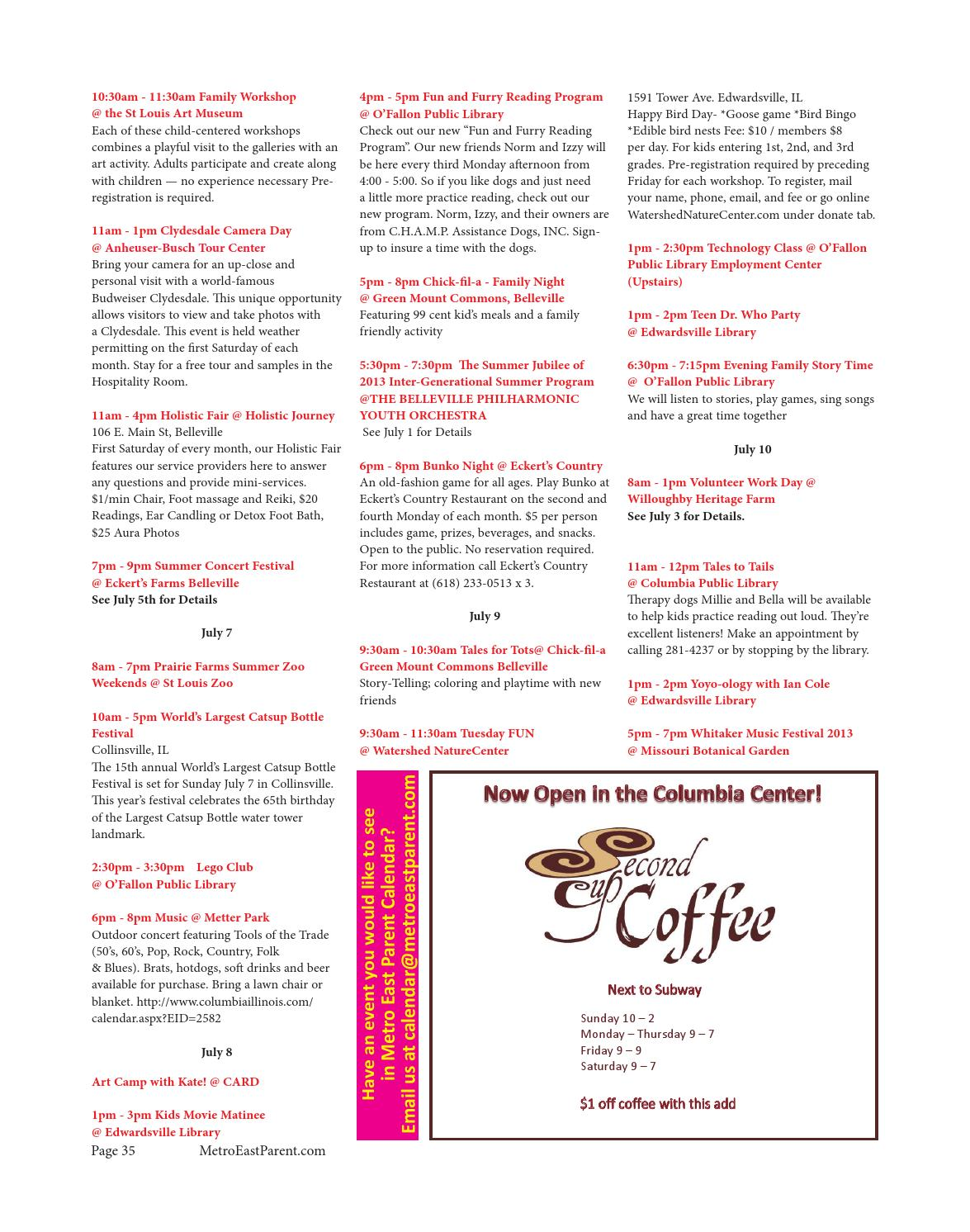 Metro East Parent Magazine July 2013 by Robert Ludwig - issuu