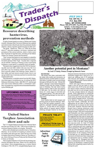 July 2013 By The Traders Dispatch Issuu