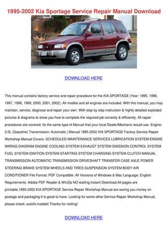 1995 2002 Kia Sportage Service Repair Manual by WardToledo - issuu