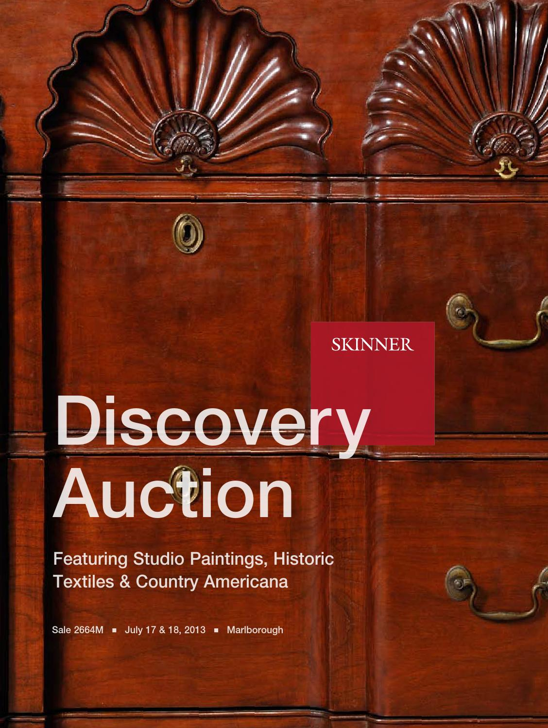 Discovery Featuring Studio Paintings And Country Americana Skinner Auction 2664m By Skinner Inc Issuu