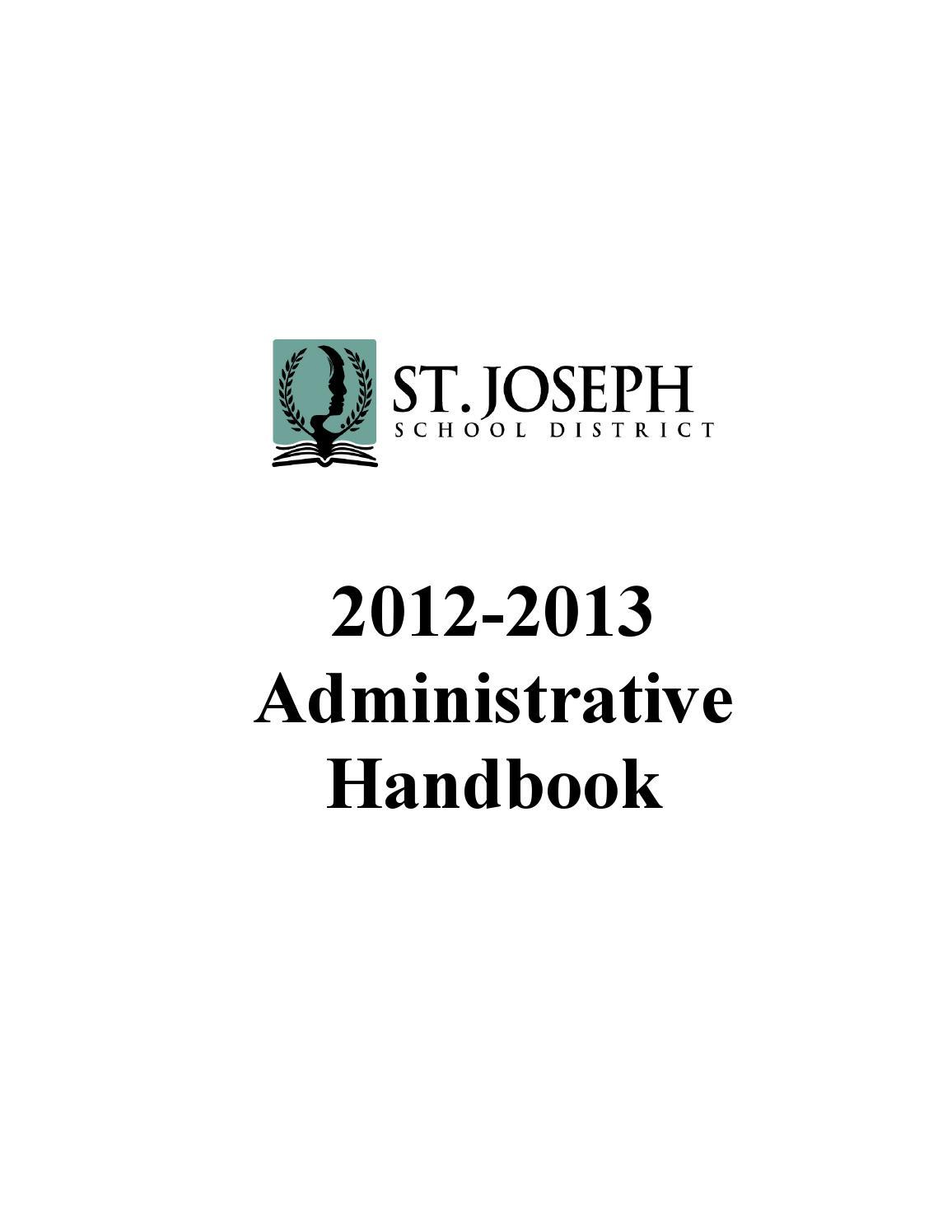 12 13 admin handbook 7 10 13 by Charisse Giseburt - issuu