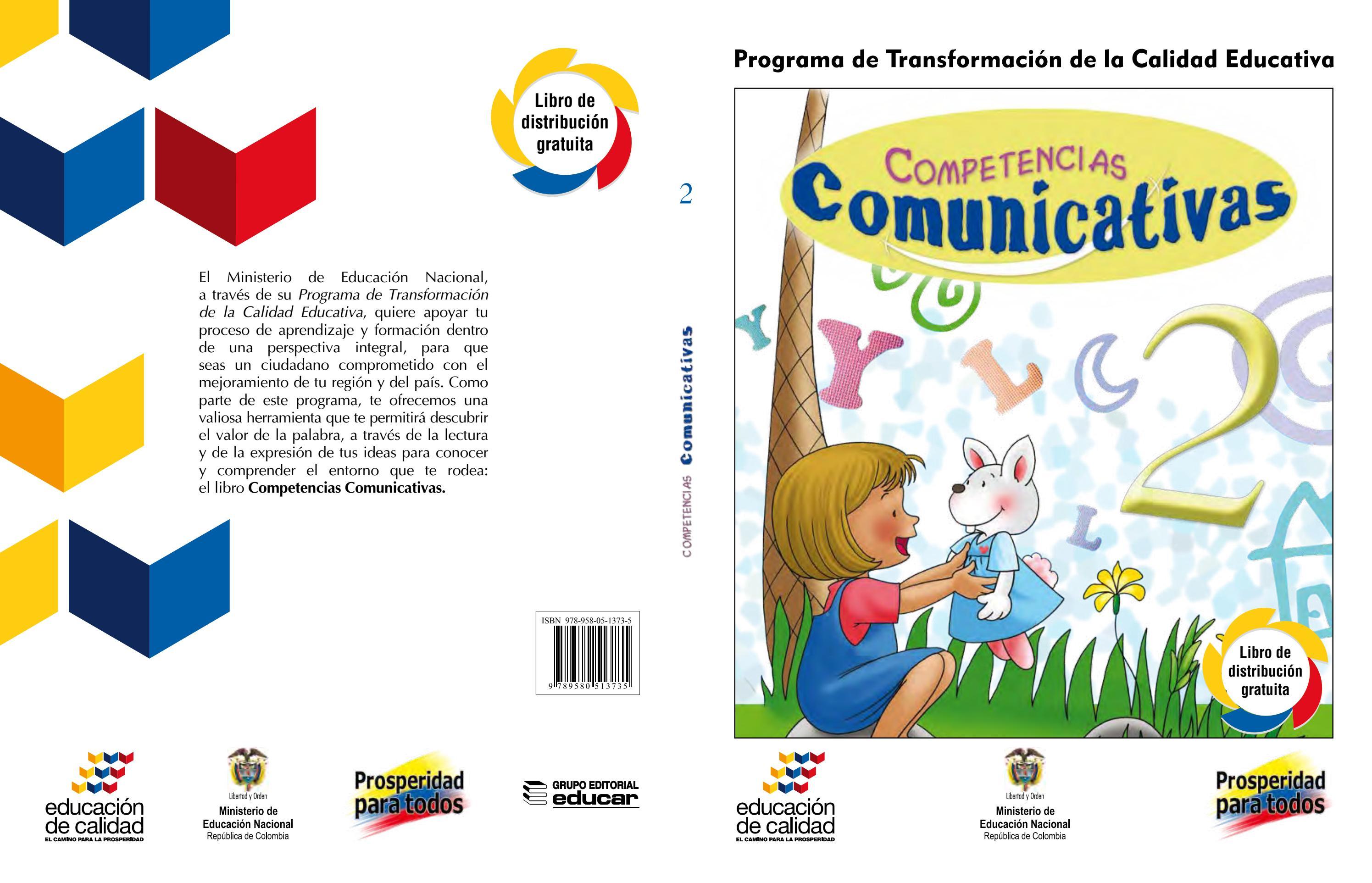 Competencias comunicativas 2º, libro del estudiante by Sandra ...