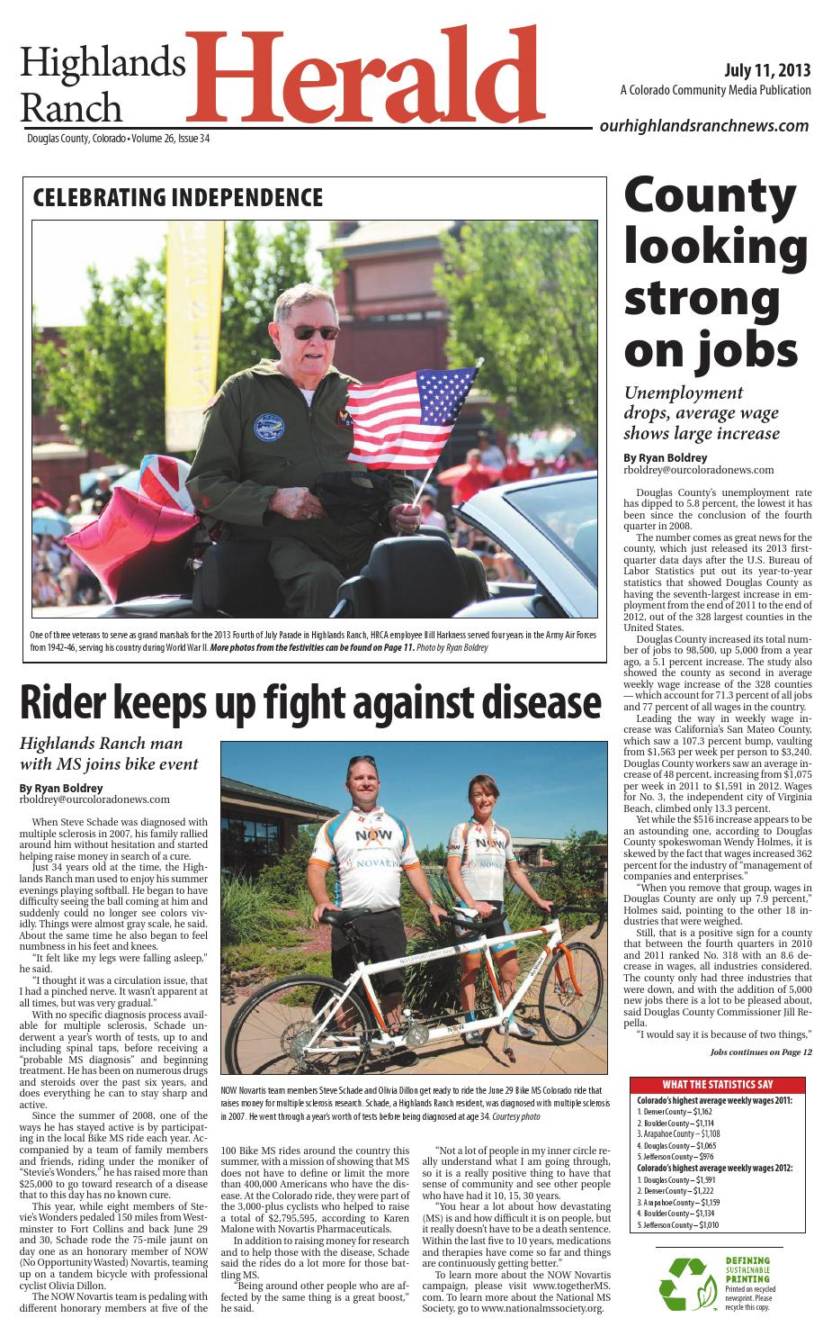 Highlands ranch herald 0711 by Colorado Community Media - issuu