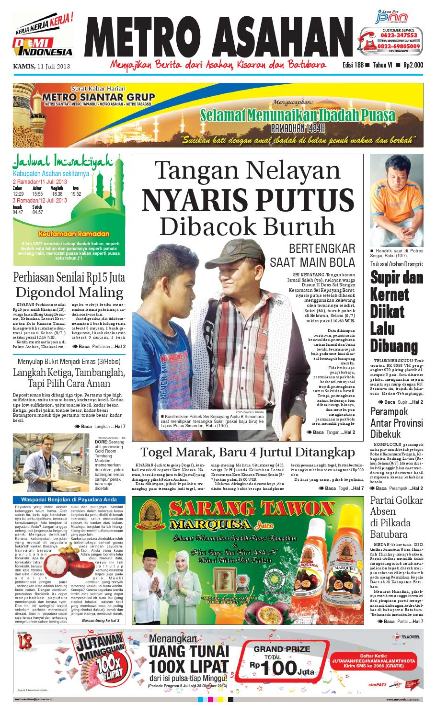 11 Kamis 07 2013 Asahan By Epaper Metro Siantar Grup Issuu