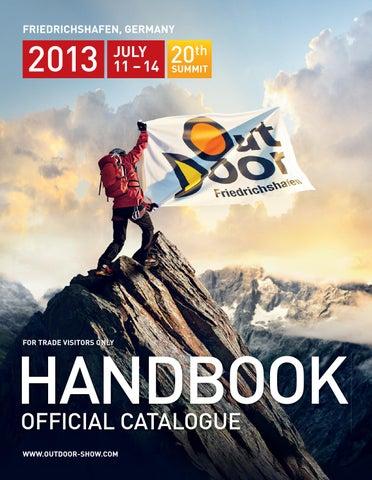 big sale classic newest OutDoor HANDBOOK 2013 by Messe Friedrichshafen GmbH - issuu