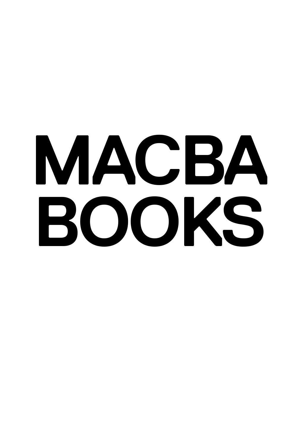 MACBA Books by MACBA Barcelona - issuu
