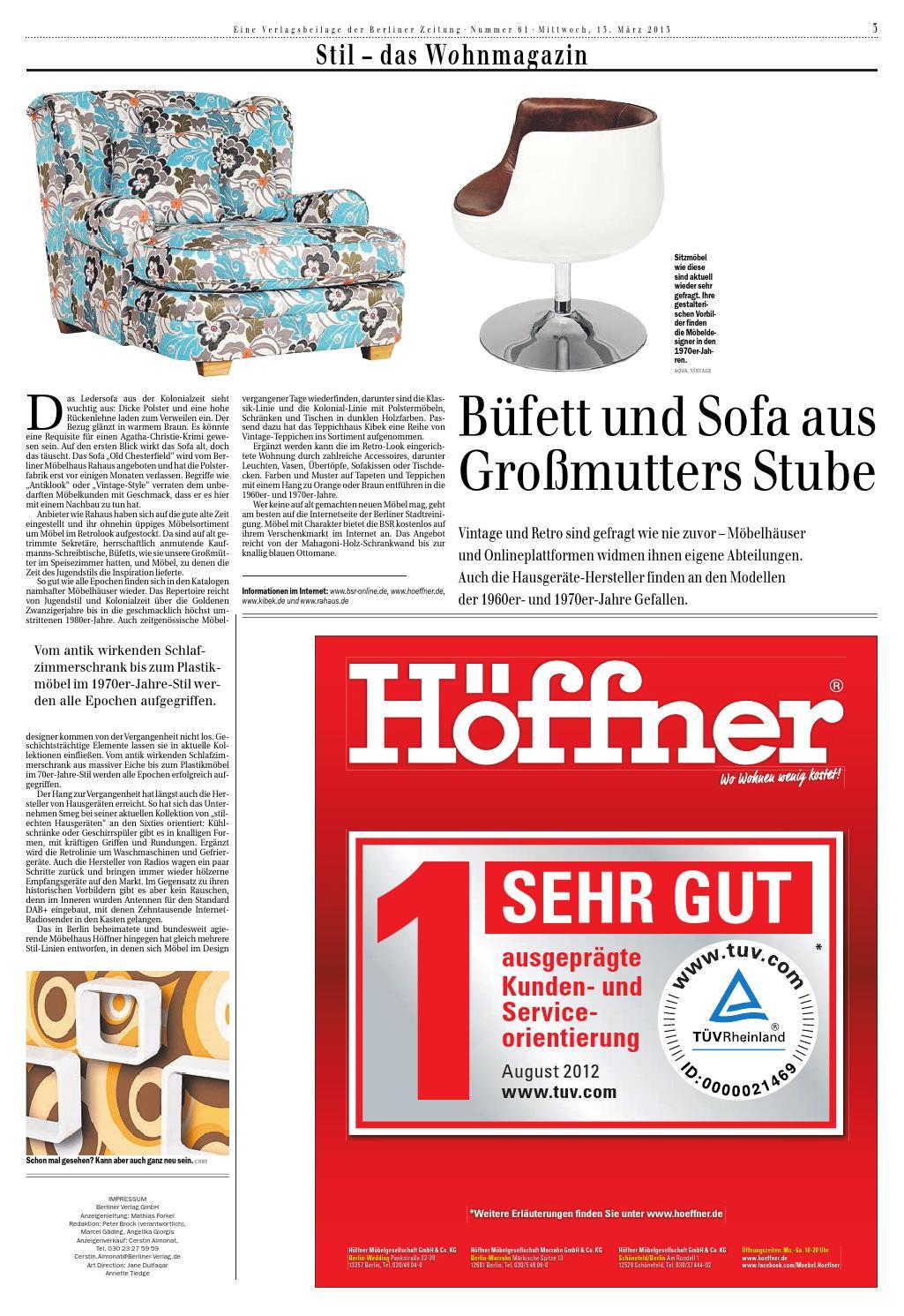 Stil Das Wohnmagazin By Berlin Medien Gmbh Issuu