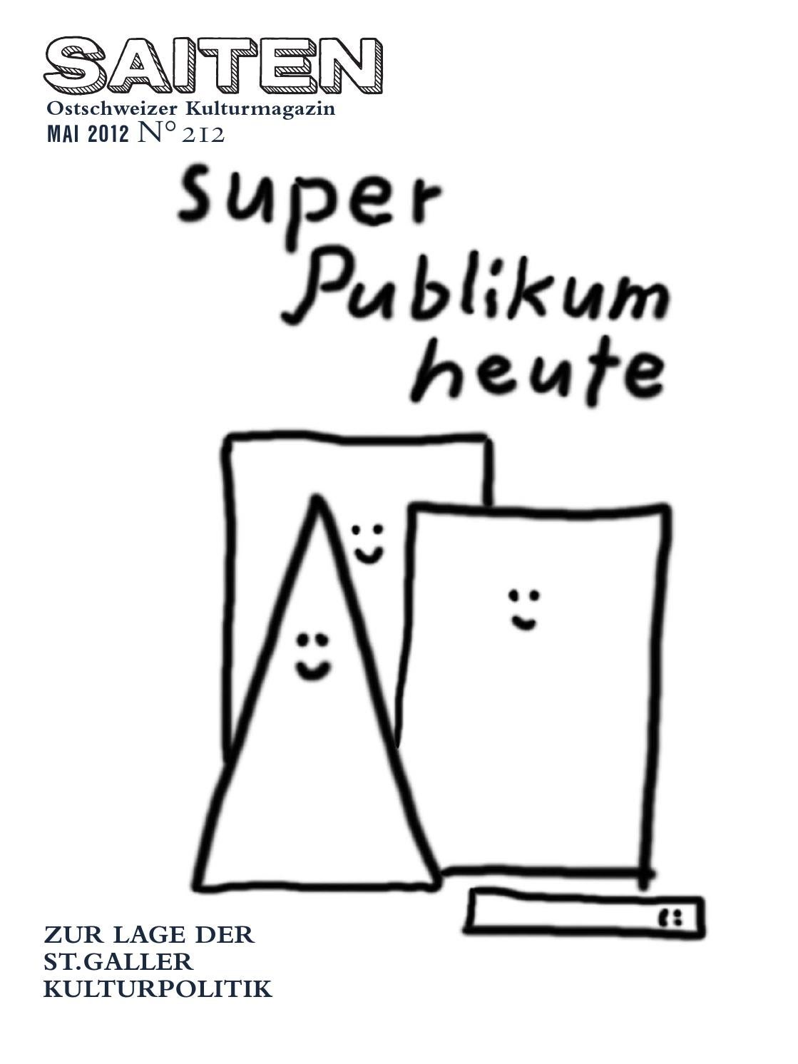 N°212 · Super Publikum heute by Kulturmagazin Saiten - issuu