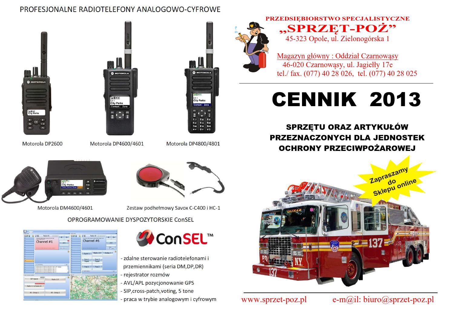 0787c6285 Cennik Sprzęt-Poż 2013 by Patryciusz Sóliga - issuu