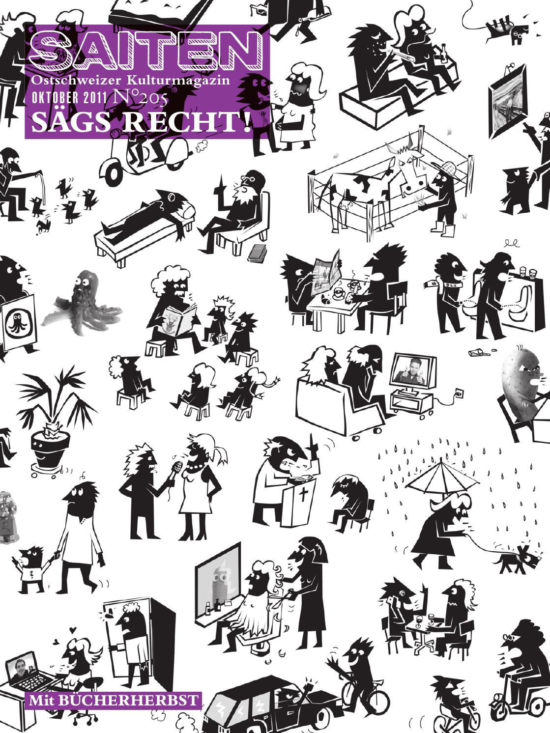 N 205 Sags Recht By Kulturmagazin Saiten Issuu