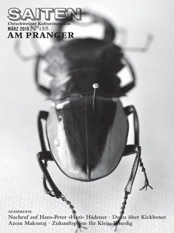 N188 Am Pranger By Kulturmagazin Saiten