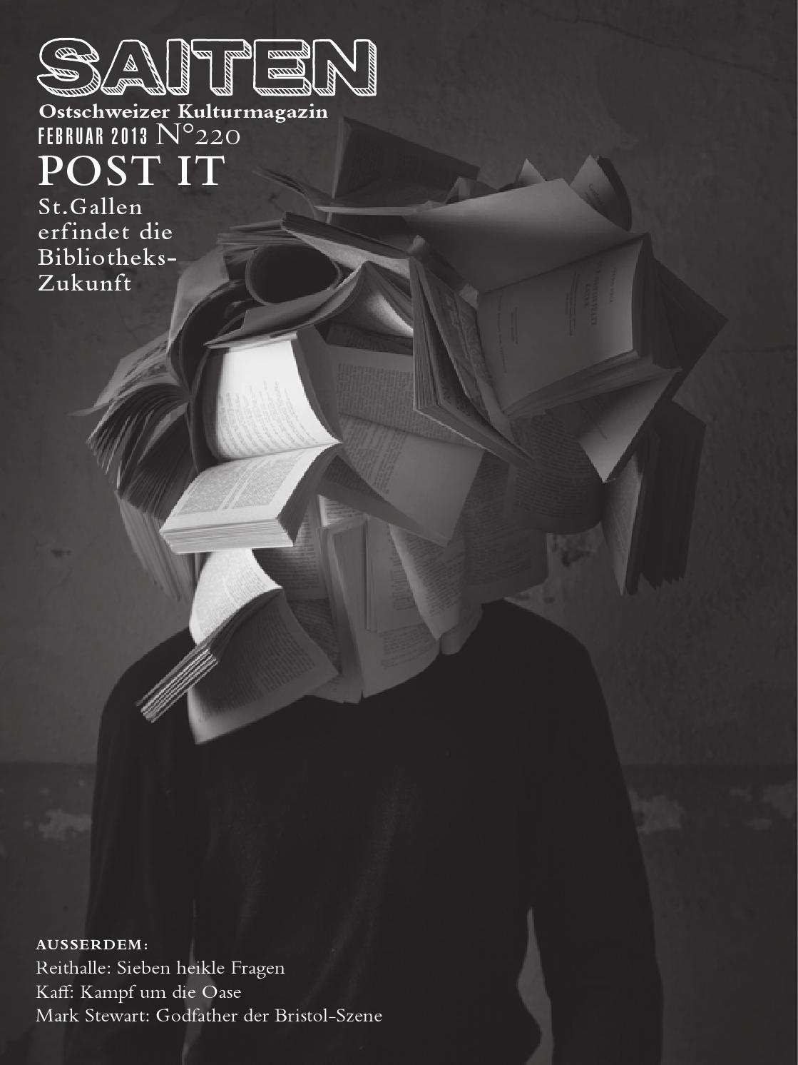 N°220 · Post it by Kulturmagazin Saiten - issuu