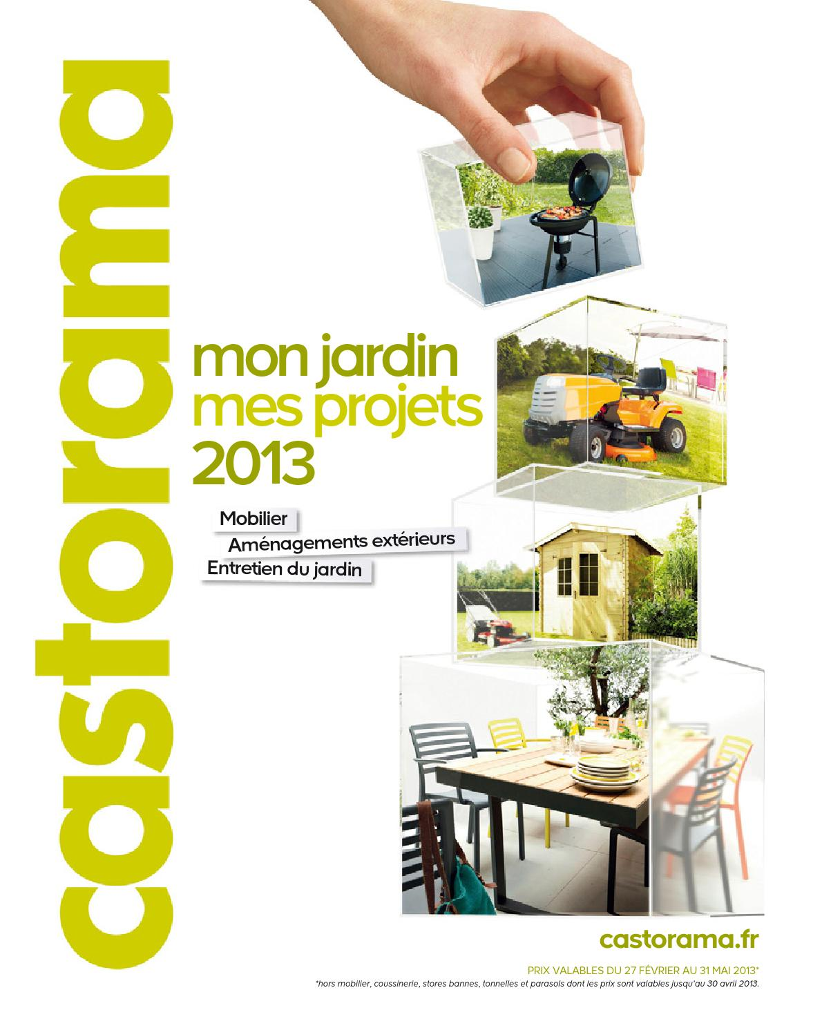 Catalogue castorama jardin projets by margot ziegler issuu for Castorama catalogue jardin