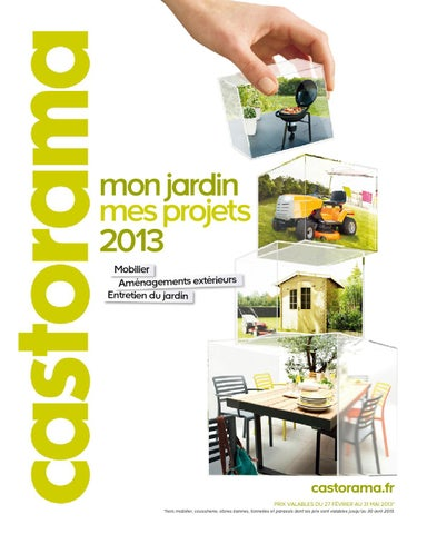 Catalogue castorama jardin projets by Margot Ziegler - issuu