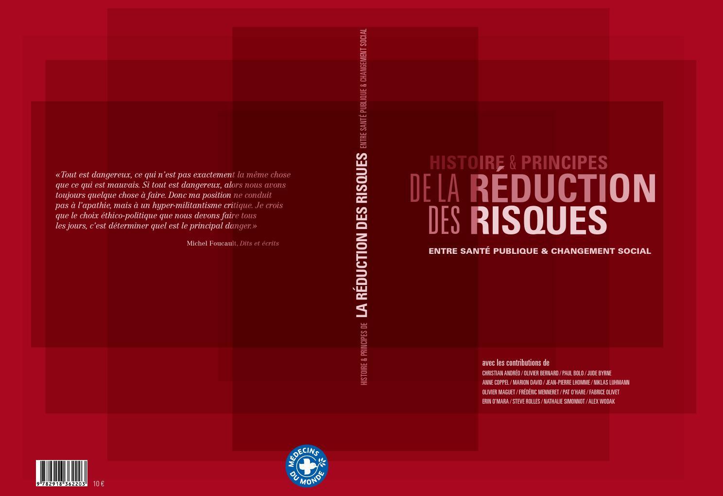 Histoire et principes de la Réduction des Risques by Médecins du Monde -  issuu 1951d688de8e