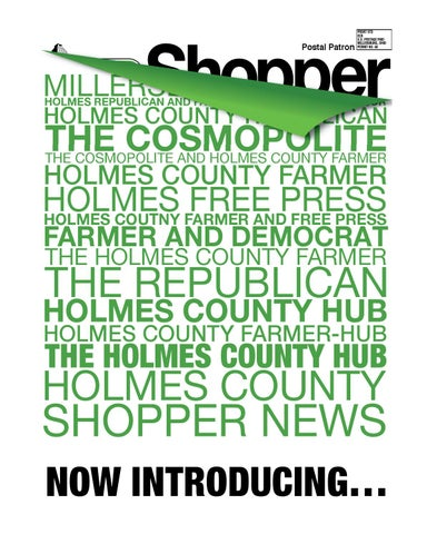Holmes county hub shopper july 11 2013 by gatehouse media neo issuu page 1 fandeluxe Choice Image
