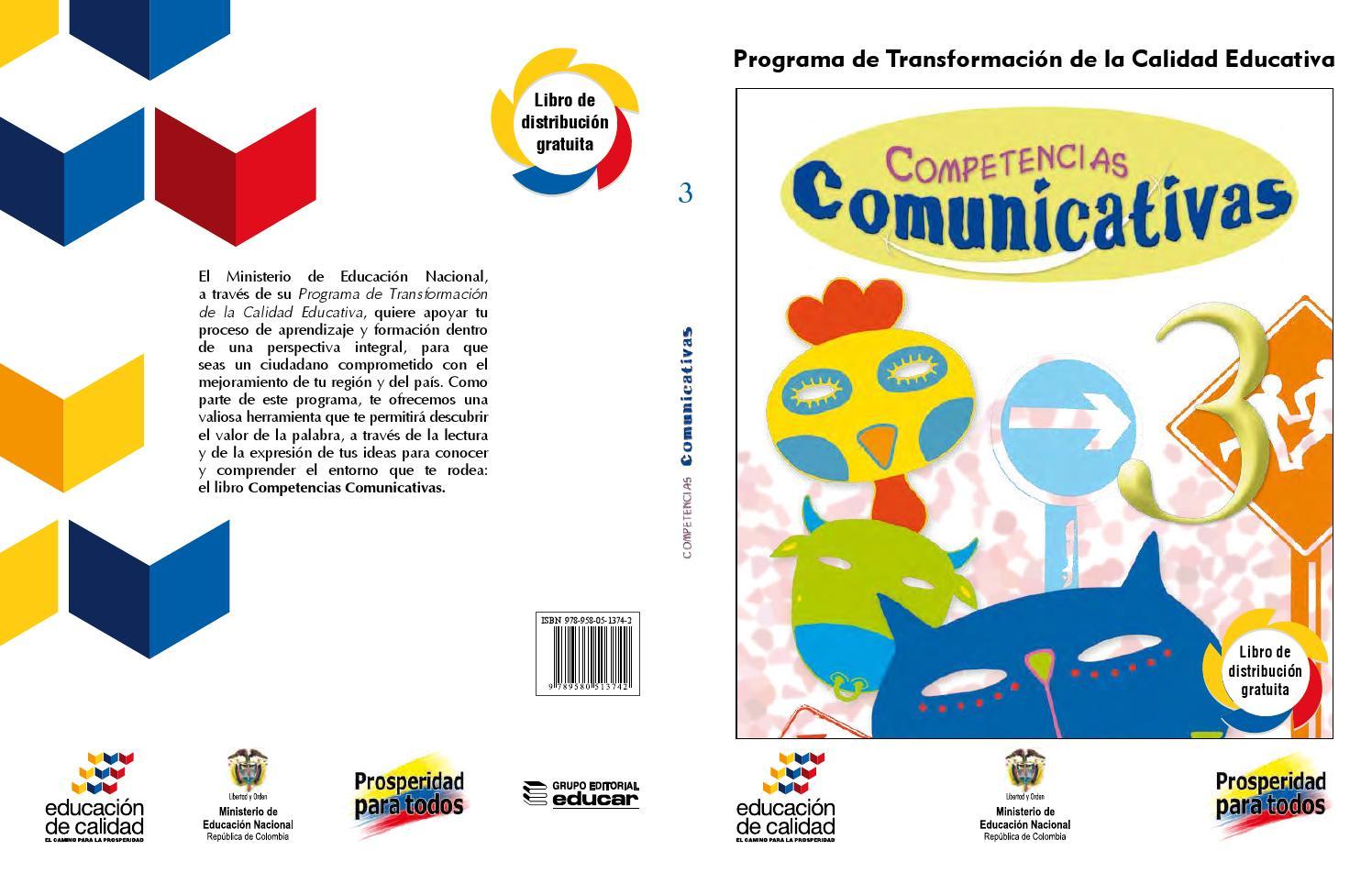 Competencias comunicativas 3 (libro estudiante) by Sandra Nowotny ...