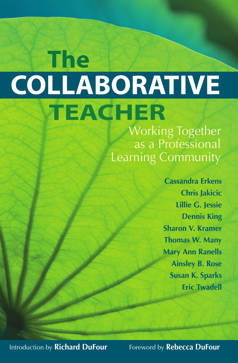 Collaborative Teaching Research ~ The collaborative teacher by solution tree issuu