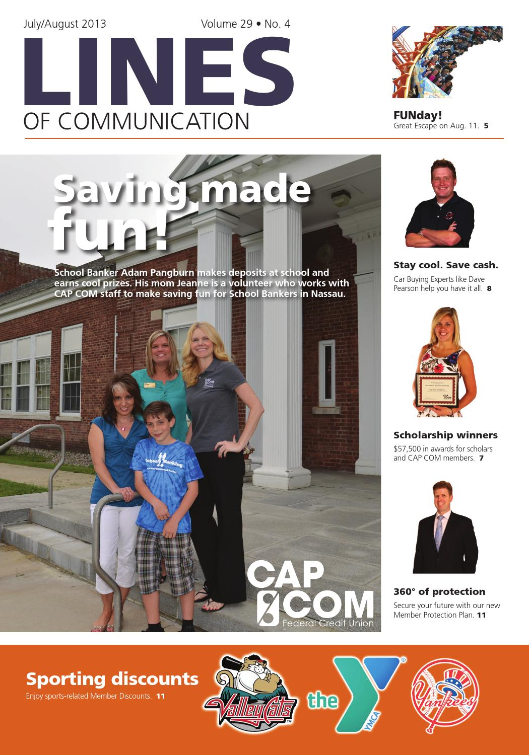 Lines of Communication: July-August 2013 by CAP COM Federal