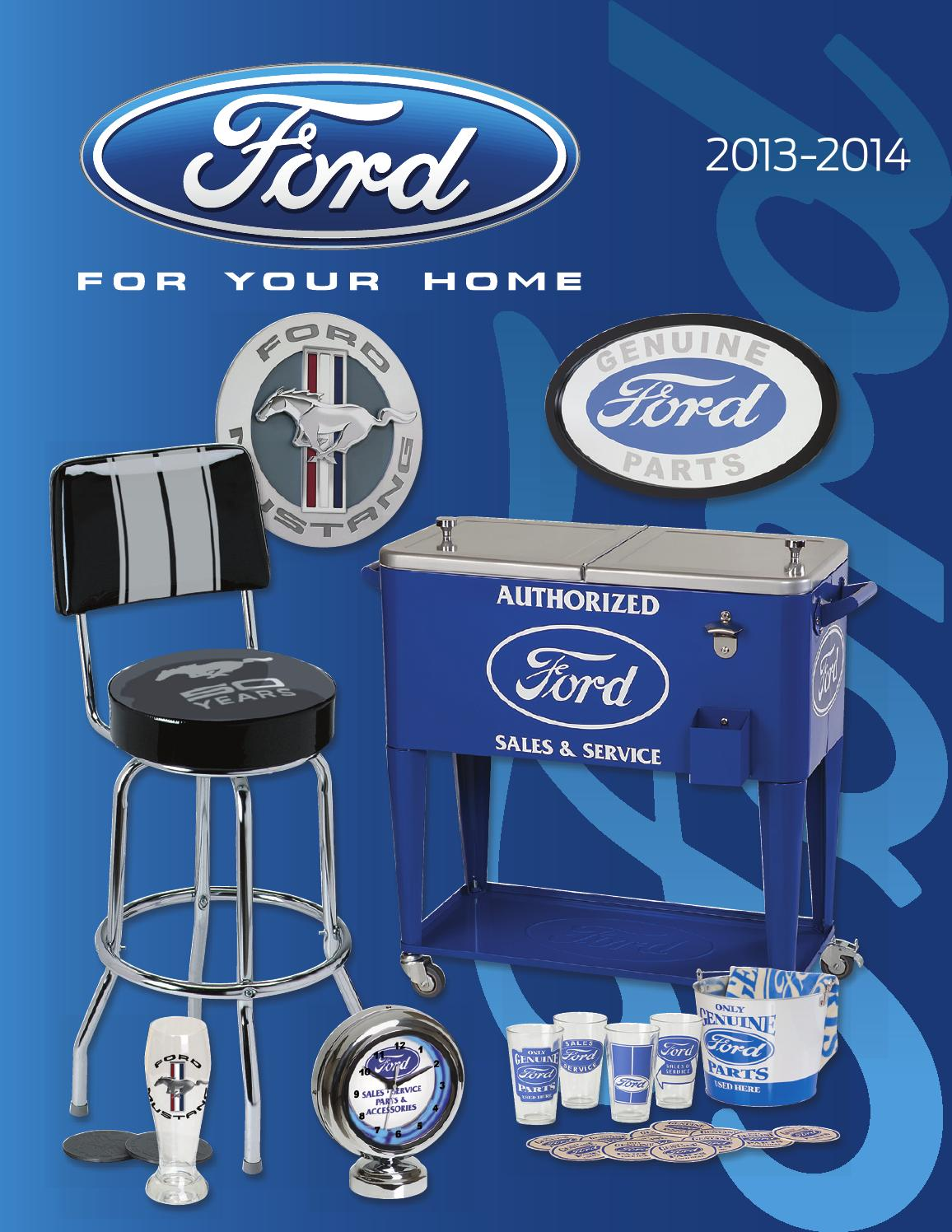 Ford For Your Home 2013 Catalog By Ace Product Management