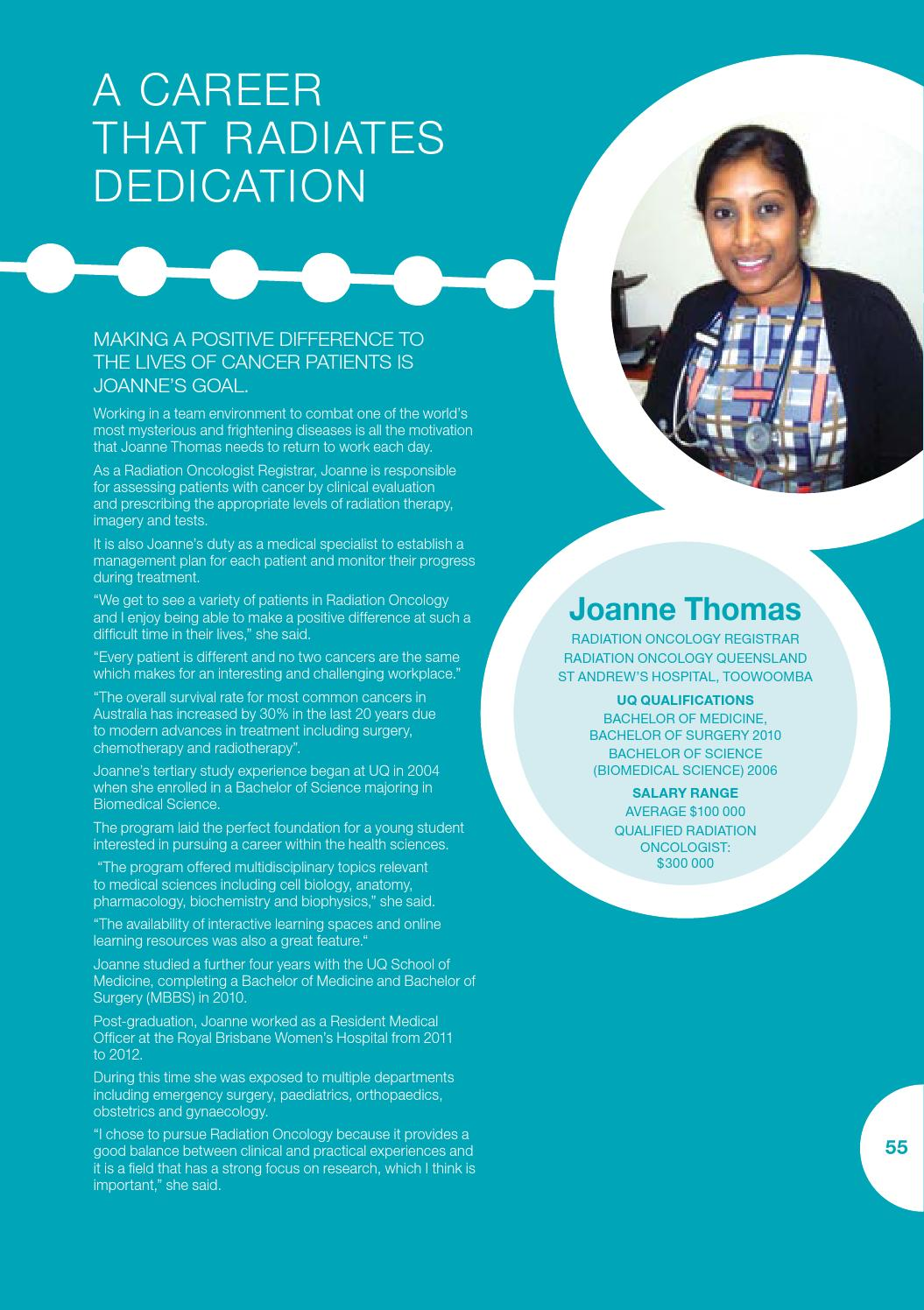Careers that started in science by UQ Science - issuu