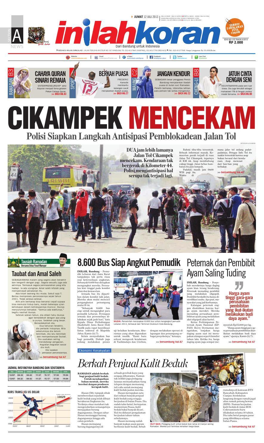 Cikampek Mencekam By Inilah Koran Issuu
