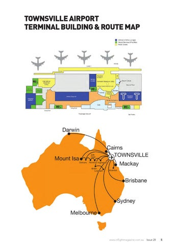Townsville Airport Map Townsville Airport Magazine Issue 28 by Inflight Publishing   issuu