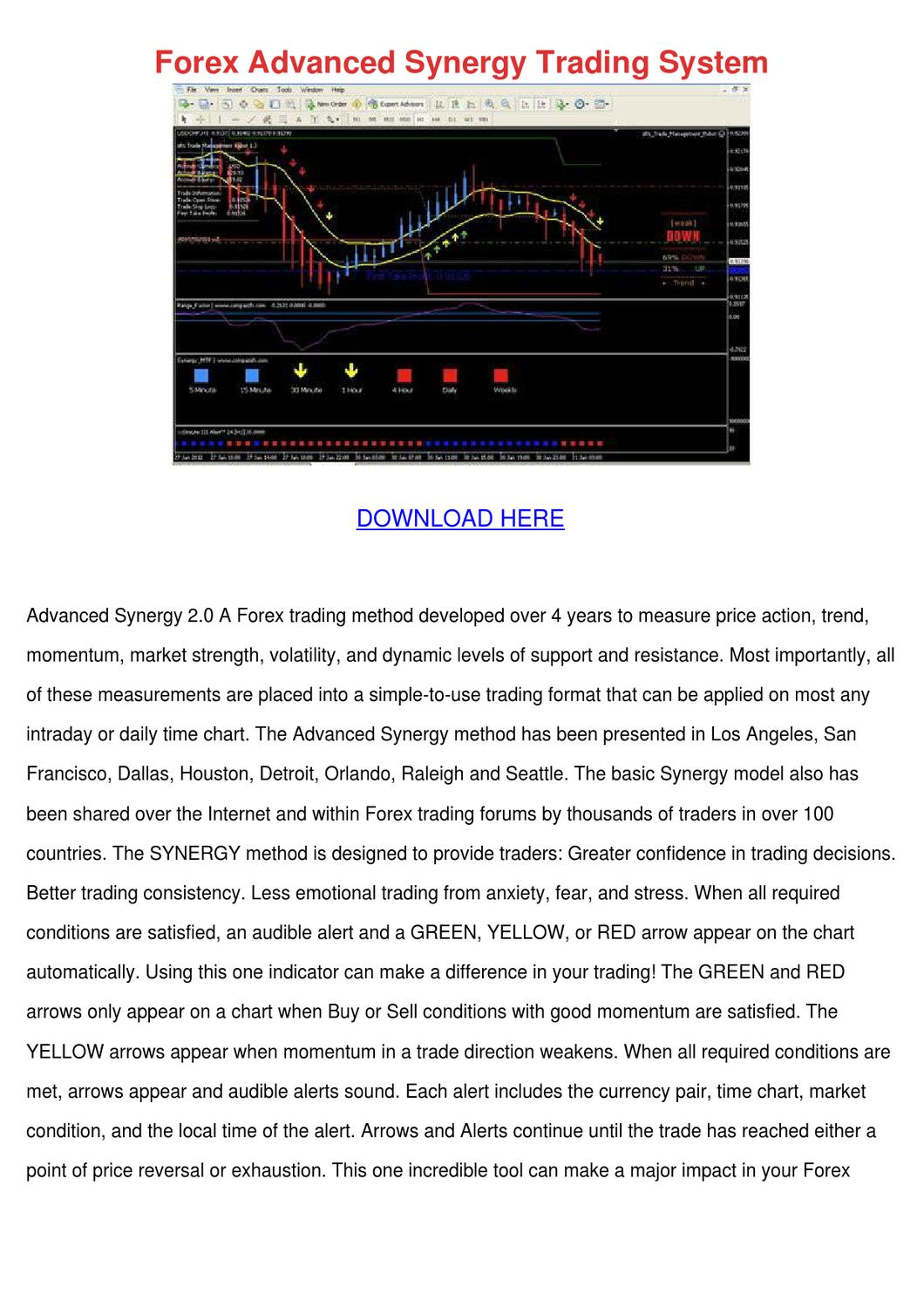 Synergy forex trading