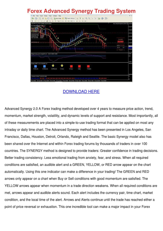 Forex Advanced Synergy Trading System by BrandenBeaman - issuu