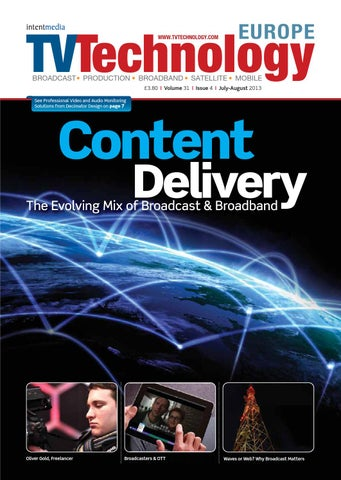 797b4d399bf TVT Europe Issue July August 2013 by Intent Media (now Newbay Media ...