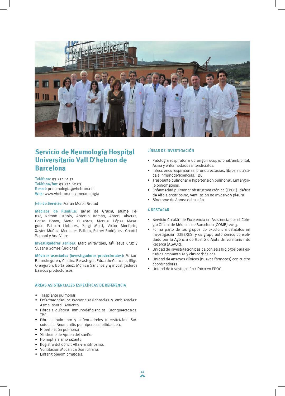 Areas asistenciales y de investigación SEPAR by SEPAR - issuu