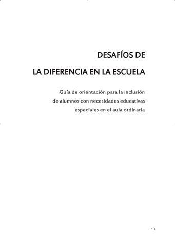 3c31fa583 Desafios de la diferencia en la escuela by Escuelas Católicas - issuu