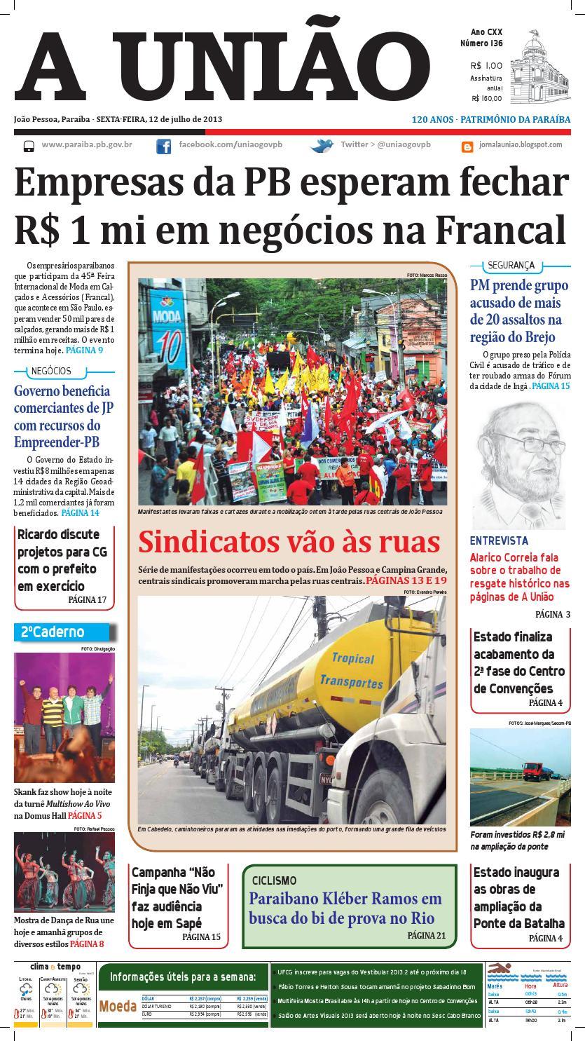 b8b6452ef8 Jornal A União by Jornal A União - issuu