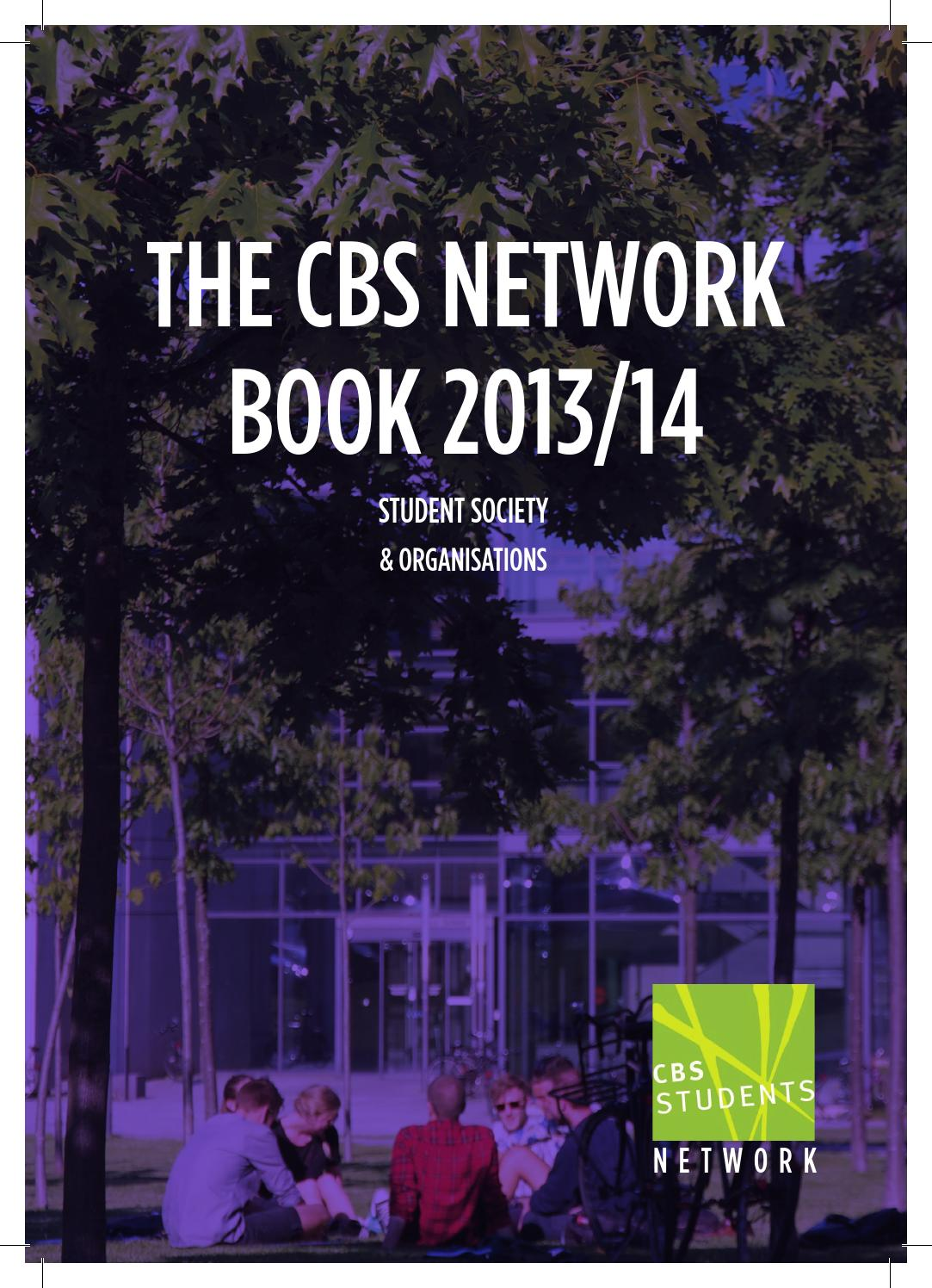The CBS Networkbook 2013/14 by CBS Students - issuu