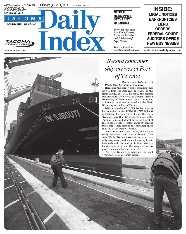 tacoma daily index july 12 2013 by sound publishing issuu