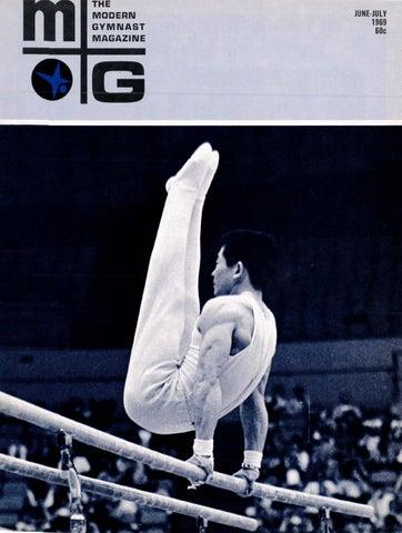 Modern Gymnast June July 1969 By Usa Gymnastics Issuu