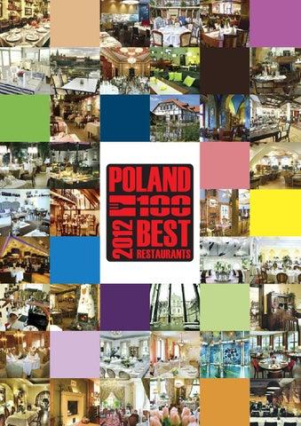 Przewodnik Poland 100 Best Restaurants 2012 By Poland 100
