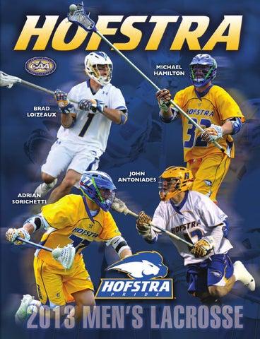 3fb1f7027 2013 Hofstra Men's Lacrosse Media Guide by Hofstra University - issuu