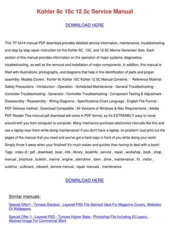Kohler 8c 10c 12 5c service manual tp 5414 service manual for kohler array kohler 8c 10c 125c service manual by charliebreedlove issuu rh issuu com fandeluxe Image collections