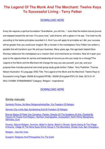 the monk as man pdf download