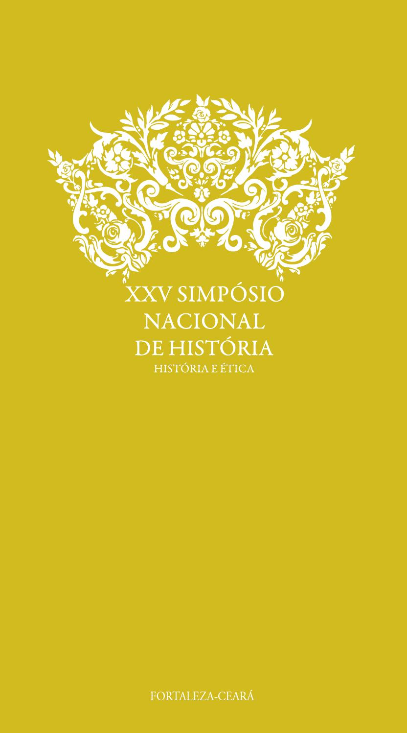 Analice Nicolau Xvideos livro de programação do xxv simpósio nacional de história