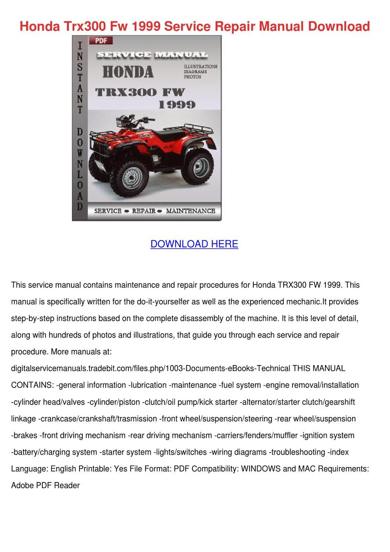 NEW HONDA ATV STARTER TRX400FW FourTrax Foreman 400 4x4 1999 2000 2001