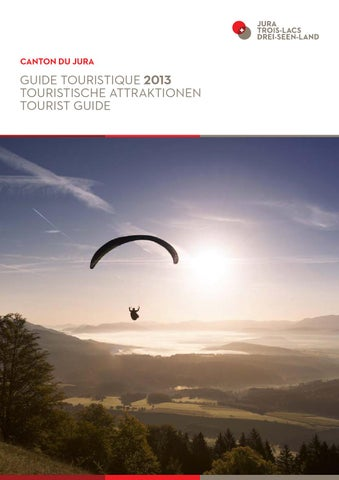 Guide touristique by Jura Tourisme - issuu