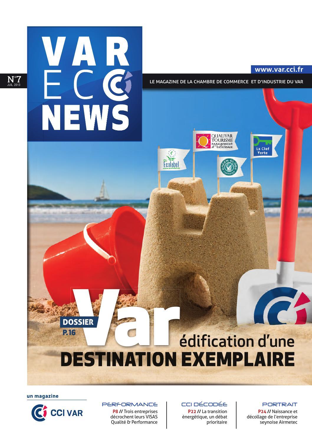Var Eco News n°7 by CCI du Var - issuu a9dc9a69b9d